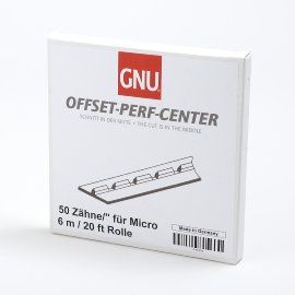 Micro-Perf-Center Zähne