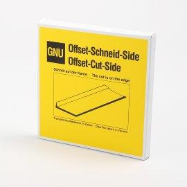 Offset-Schneid-Karton