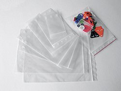 100 x 150mm x 50µ Polyethylen-