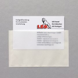 Self-adhesive bags, protection film, plastic bags