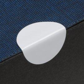 20mm Klebepunkte weiß einseit.