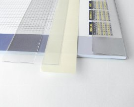 covering strips for desk pads
