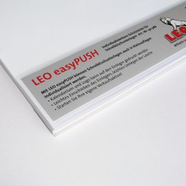 LEOeasyPUSH,self-adh.,covering