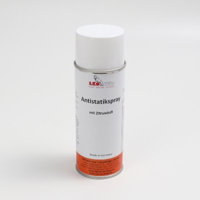 antistatic spray, colorless