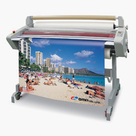 Large format laminators for displays
