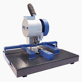 Eyeletting, punching and corner rounding machines