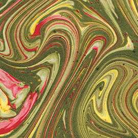 French marbled paper