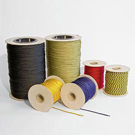 Ribbons and sewing threads
