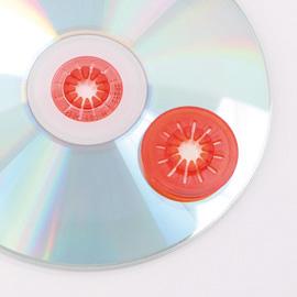 LEO - CD Clips und CD-Schaumbuttons zum Anbringen von CDs, CD-ROMs oder Video-CDs in Ordnern oder An