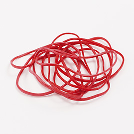 Rubber elastic bands