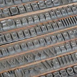 Stamping types for hot stamping machines