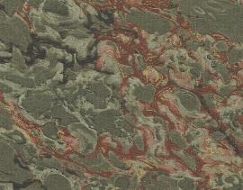 9911/12 Franz.Marmor Dunkelgrü