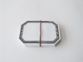 Heftschilde ungumm. Gr. 1