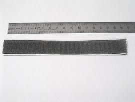 20 mm schwarz Haftband