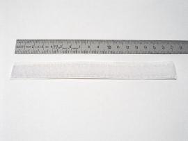 16 mm weiß Flauschband