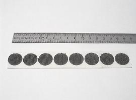 19 mm schwarz Haftscheibe