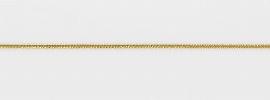 Elastische Gummikordel, gold