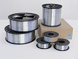 21 Stahl verz.0,80mm Heftdraht