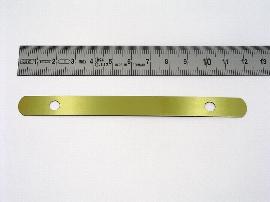 12cm Stahl-Deckleiste,