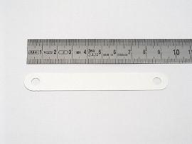 9,5cm weiß Kunstst.Deckleisten