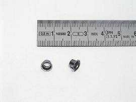 25 blank Ösen D=6,6 d1=4,7mm