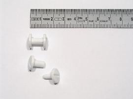 10 mm Kunststoff-Buchschrauben