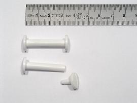30 mm Kunststoff-Buchschrauben