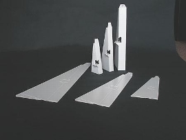 Plakatstützen für A4 110x290mm