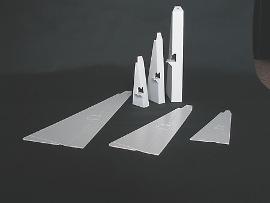Plakatstützen für A6 60x140mm