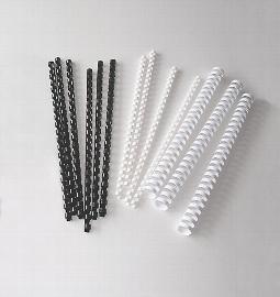 Plastikbinder.EURO*12mm, Weiß