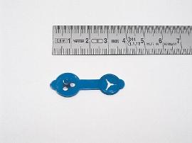 Briefknöpfe blau     23 mm