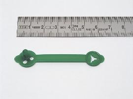 Briefknöpfe grün     48 mm