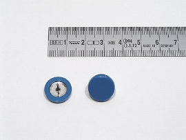 Plakatbutton blau    14 mm
