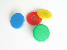 Plakatbutton blau    30 mm