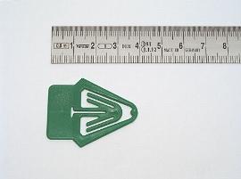 Datumsreiter 25mm Fahne