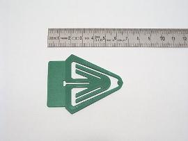Datumsreiter 40mm Fahne