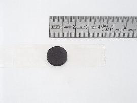 CD-Button schwarz selbstkleb.