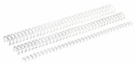 Ring-Wire Grossrollen weiss 3:1