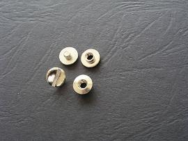 2mm Buchschrauben vernickelt