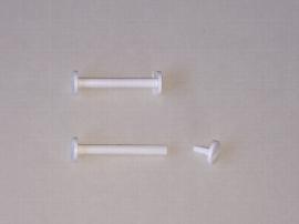 80 mm Kunststoff-Buchschrauben