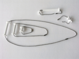 5 mm durchbohrte Kunststoff-