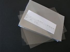 Deckblätter A4, 200 mµ, klar