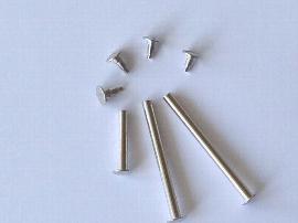 16mm Buchschrauben vernickelt