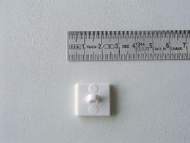 Abhängebutton quadrat.18x18 SK