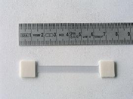 Schildhalter,Steg transparent