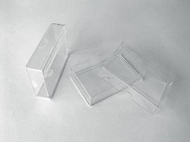 Spielkartenboxen, klar