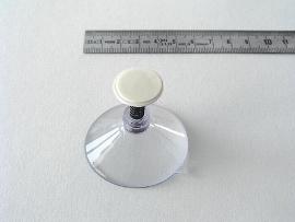 Haftsauger farblos 50mm mit