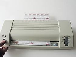 110x80mm,2x125µ  DIN A7