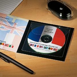 CD-Tasche mit Klappe