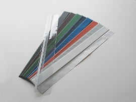 Kalenderlaschen schwarz  595mm